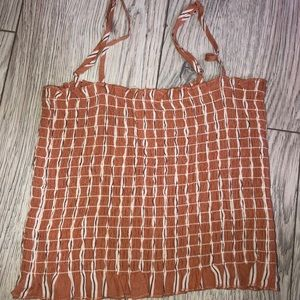 Forever 21 contemporary tube top tank nwot